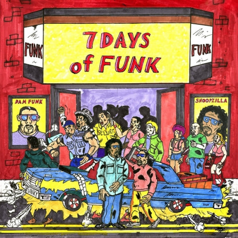 Snoop Dogg & Dam-Funk - 7 Days of Funk