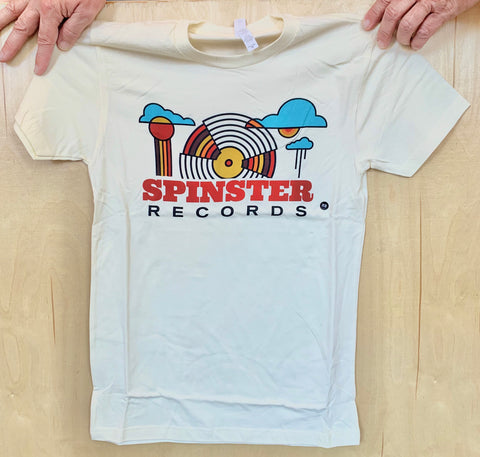 Spinster Records Mural T-Shirt