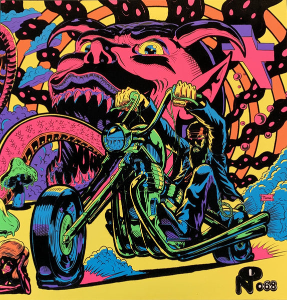 Warfaring Strangers: Acid Nightmares / Various (Opaque Yellow & ClearColored Vinyl) [Import]
