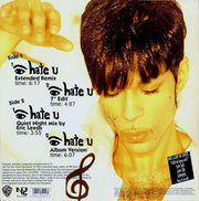 The Artist (Formerly Known As Prince) ‎– I Hate U (The Hate Experience) [VINTAGE]