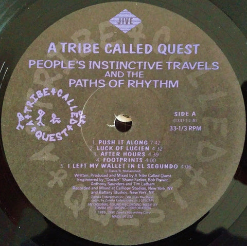 A Tribe Called Quest - People's Instinctive Travels and Paths of Rhythm (Vintage Vinyl)