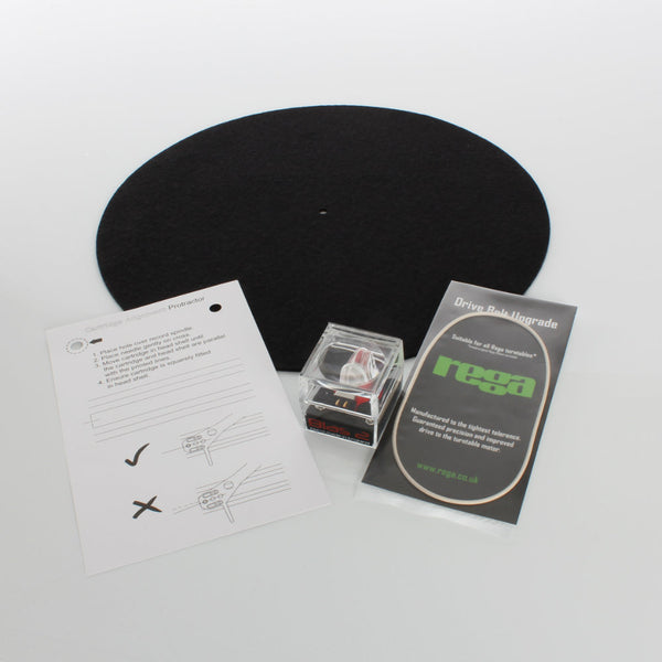 Rega Performance Pack for P1, P2, and RP1