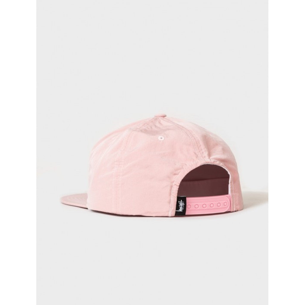 STUSSY REFLECTIVE TAPE CAP PINK 131693