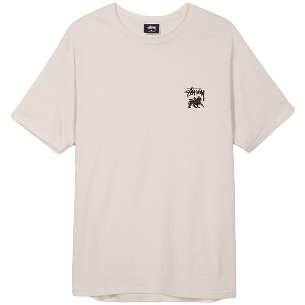 STUSSY LION SHIELD TEE STONE 1904188