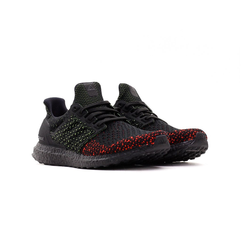 ADIDAS RUNNING ULTRA BOOST CLIMA BLACK SOLAR RED MEN AQ0482