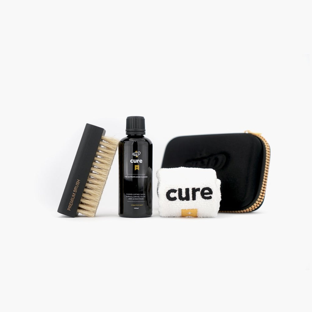 CREP PROTECT CURE ( BRUSH, 100ML CLEANING SOLUTION, AND MICROFIBER CLOTH )