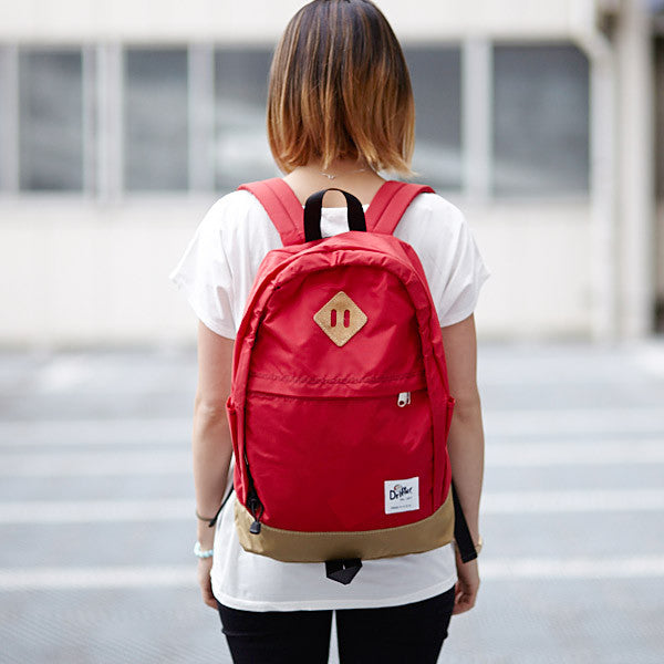DRIFTER RAMBLING PACK BACKPACK - BURN RED MADE IN USA