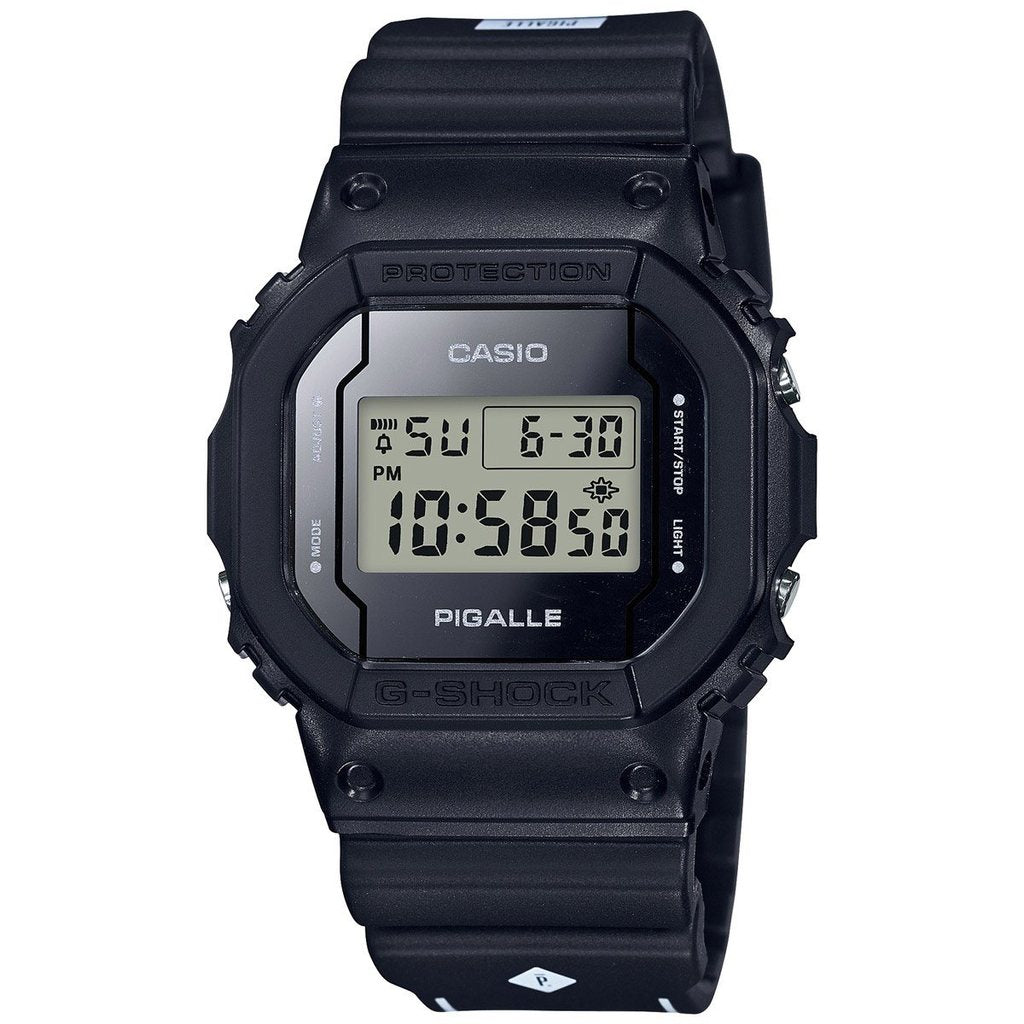 CASIO G-SHOCK X PIGALLE COLLABORATION LIMIED EDITION BLACK DW5600PGB-1