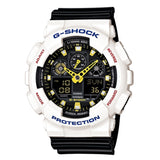 CASIO G-SHOCK GA100CS-7A WHITE / BLACK