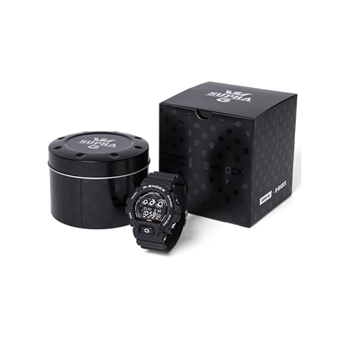 CASIO G-SHOCK x SUPRA GDX6900SP-1 GDX BLACK