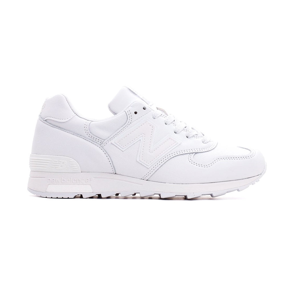 NEW BALANCE M1400B TRIPLE WHITE LEATHER MADE IN USA M1400