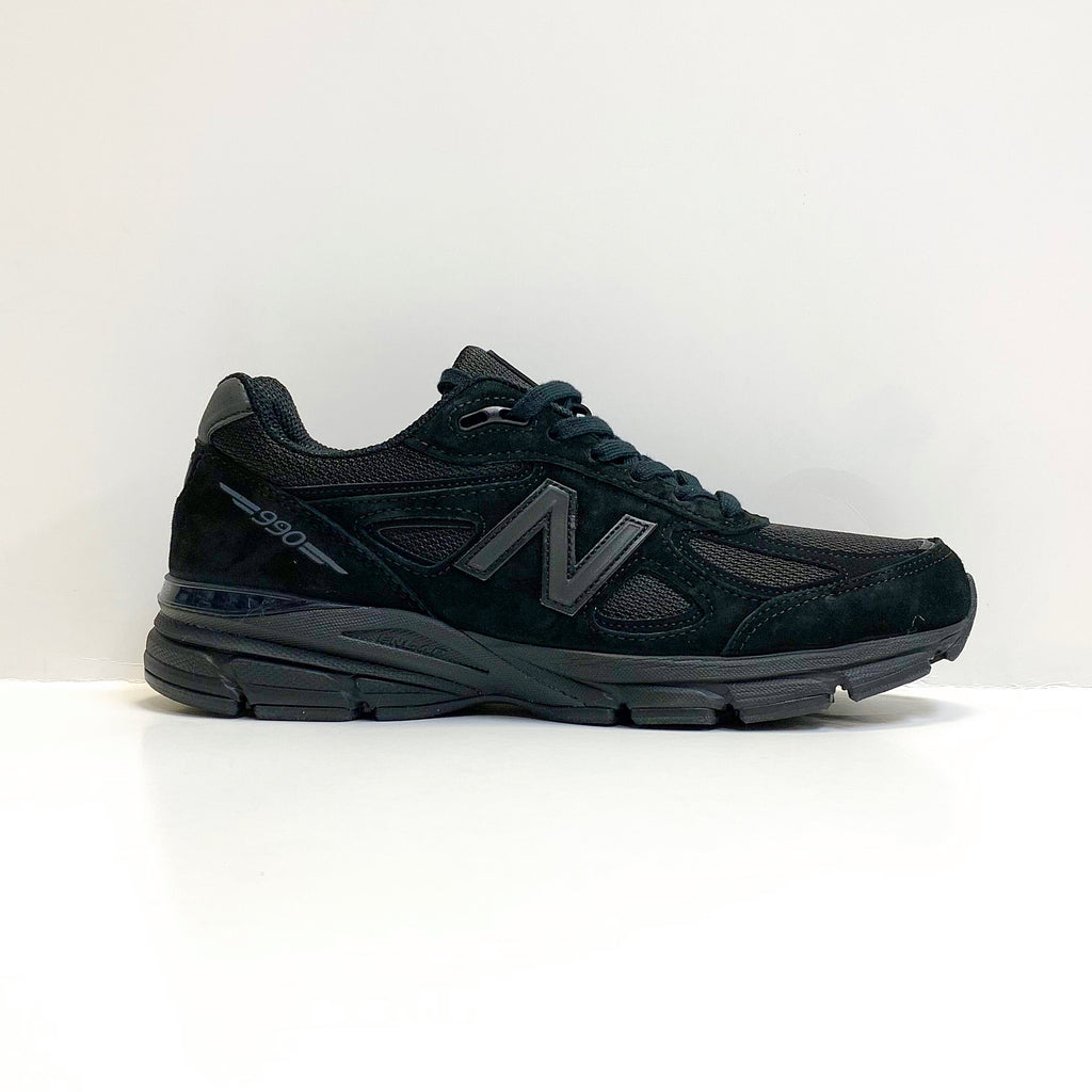 NEW BALANCE M990BB4 TRIPLE BLACK MADE IN USA M990V4