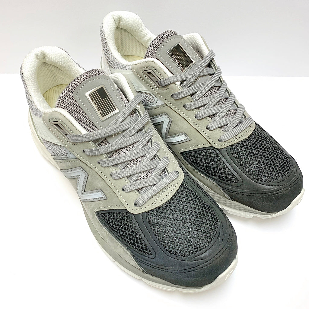 NEW BALANCE M990BM5 GREY WHITE BLACK MADE IN USA M990V5
