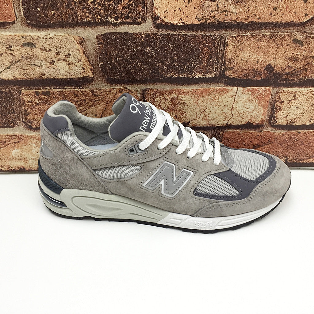 NEW BALANCE M990GR2 BRINGBACK GREY SILVER MADE IN USA M990V2