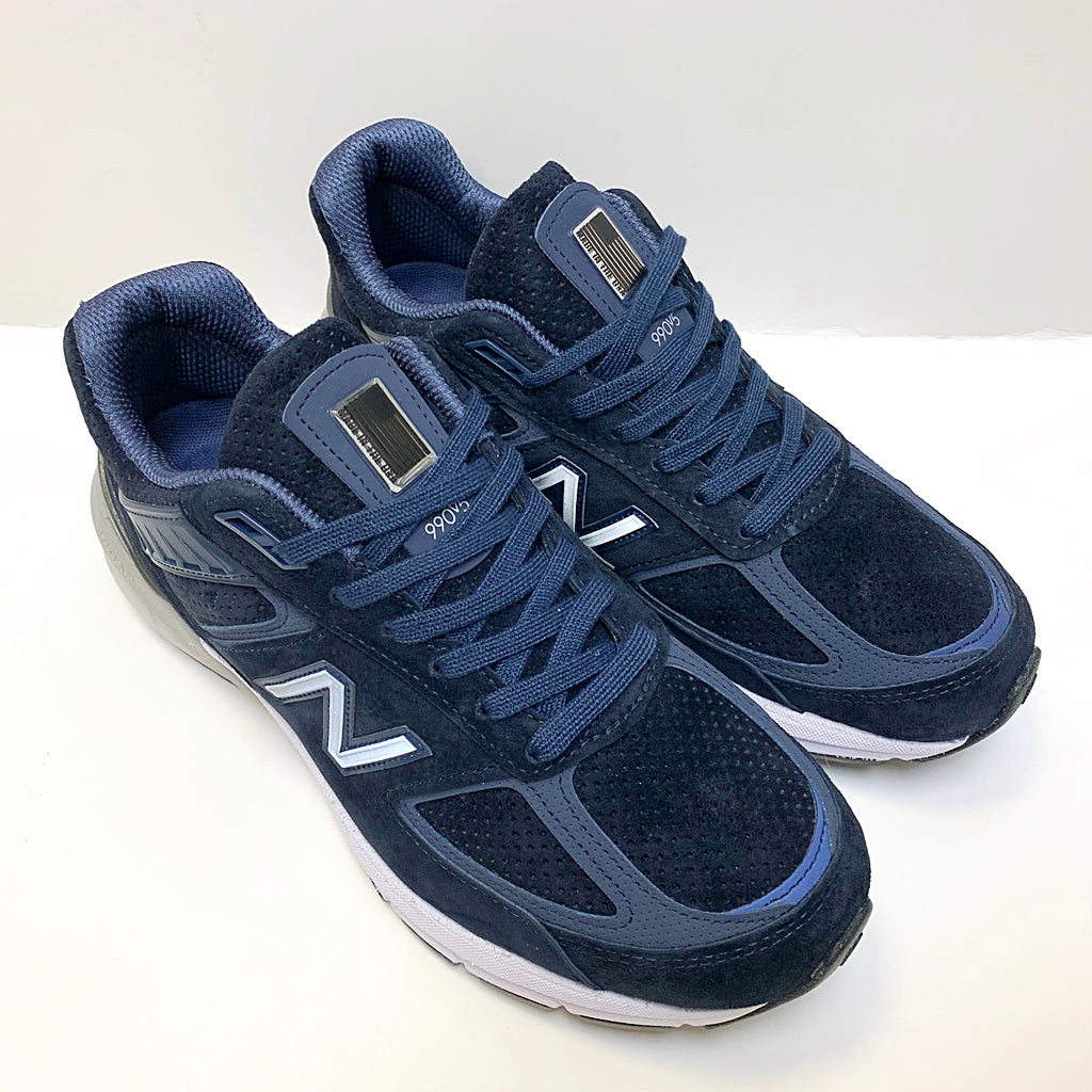 NEW BALANCE M990SN5 NAVY WHITE MADE IN USA M990V5