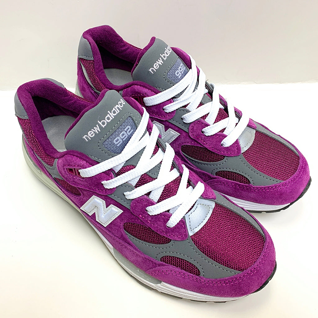NEW BALANCE M992BA PURPLE MEN MADE IN USA M992