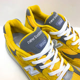 NEW BALANCE M992BB YELLOW MEN MADE IN USA M992