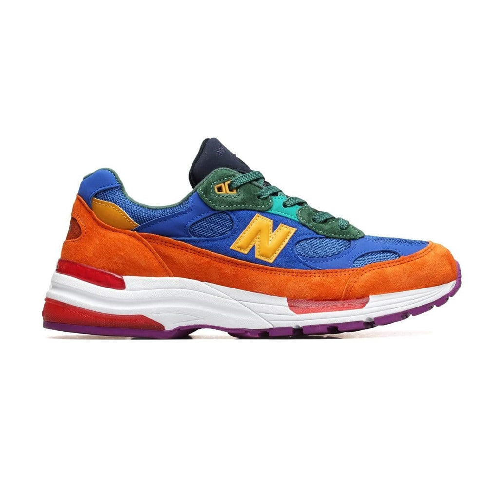 NEW BALANCE M992MC ORANGE WITH BLUE MEN MADE IN USA M992