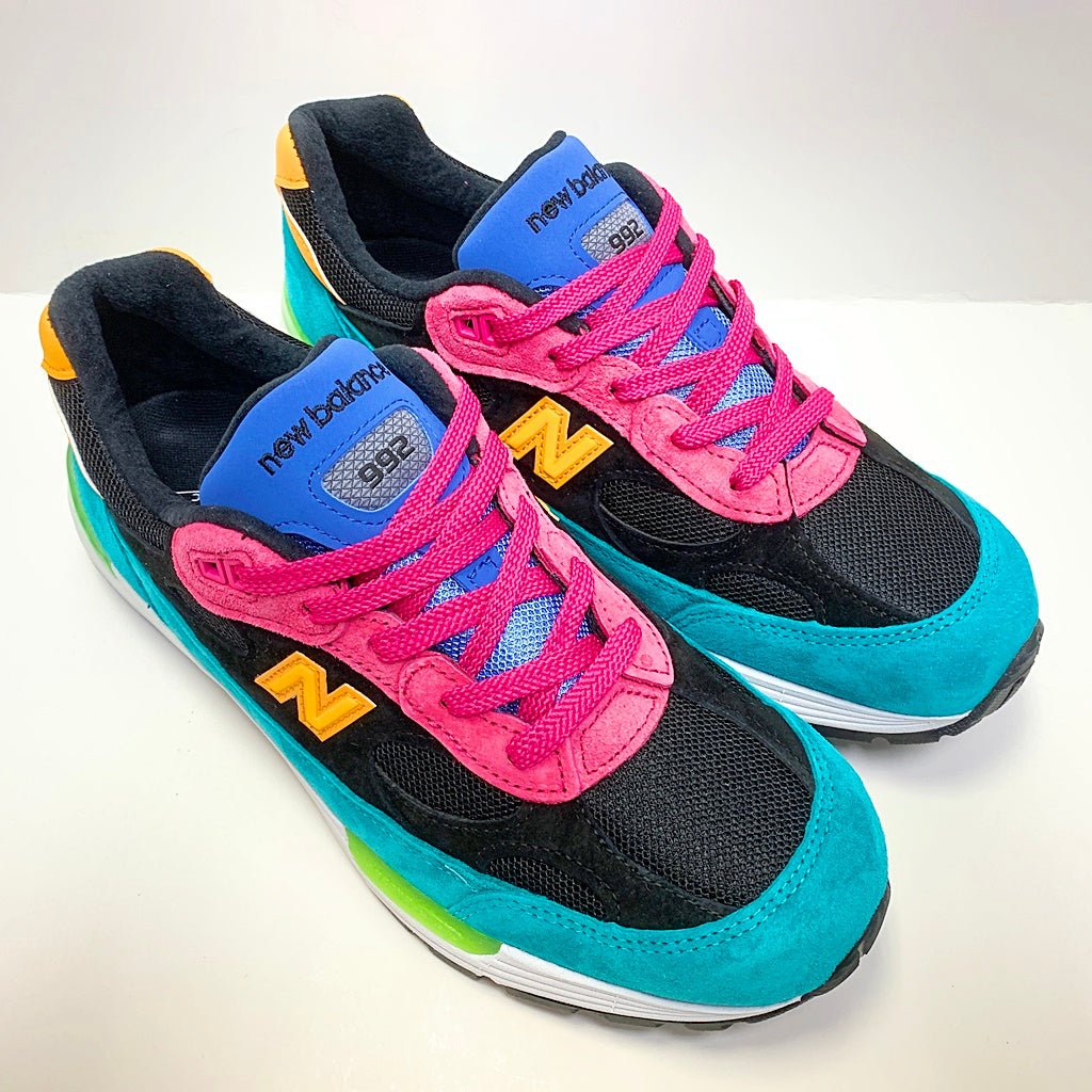 NEW BALANCE M992RE GREEN PINK MADE IN USA M992