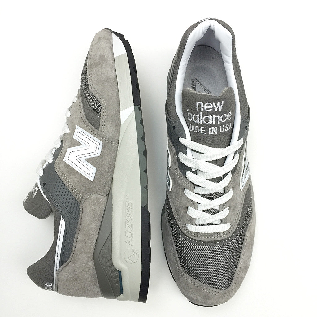 NEW BALANCE M9975GR GREY SILVER WHITE MADE IN USA