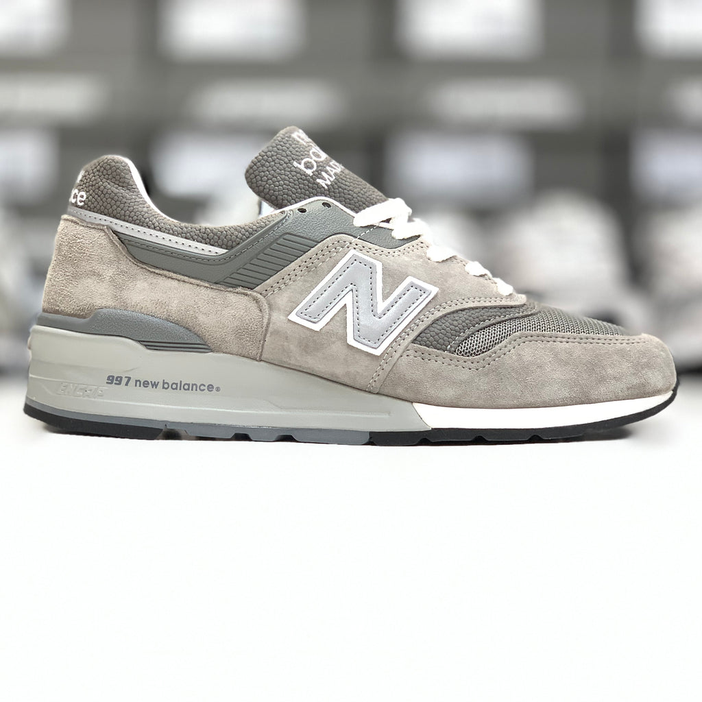 NEW BALANCE M997GY GREY MADE IN USA