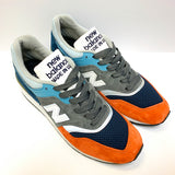 NEW BALANCE M997NAG BLUE GREY ORANGE MEN MADE IN USA