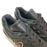 NEW BALANCE M997PAF BLACK GREY MADE IN USA HORWEEN LEATHER