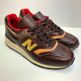 NEW BALANCE M997PAH BROWN TAN MADE IN USA HORWEEN LEATHER