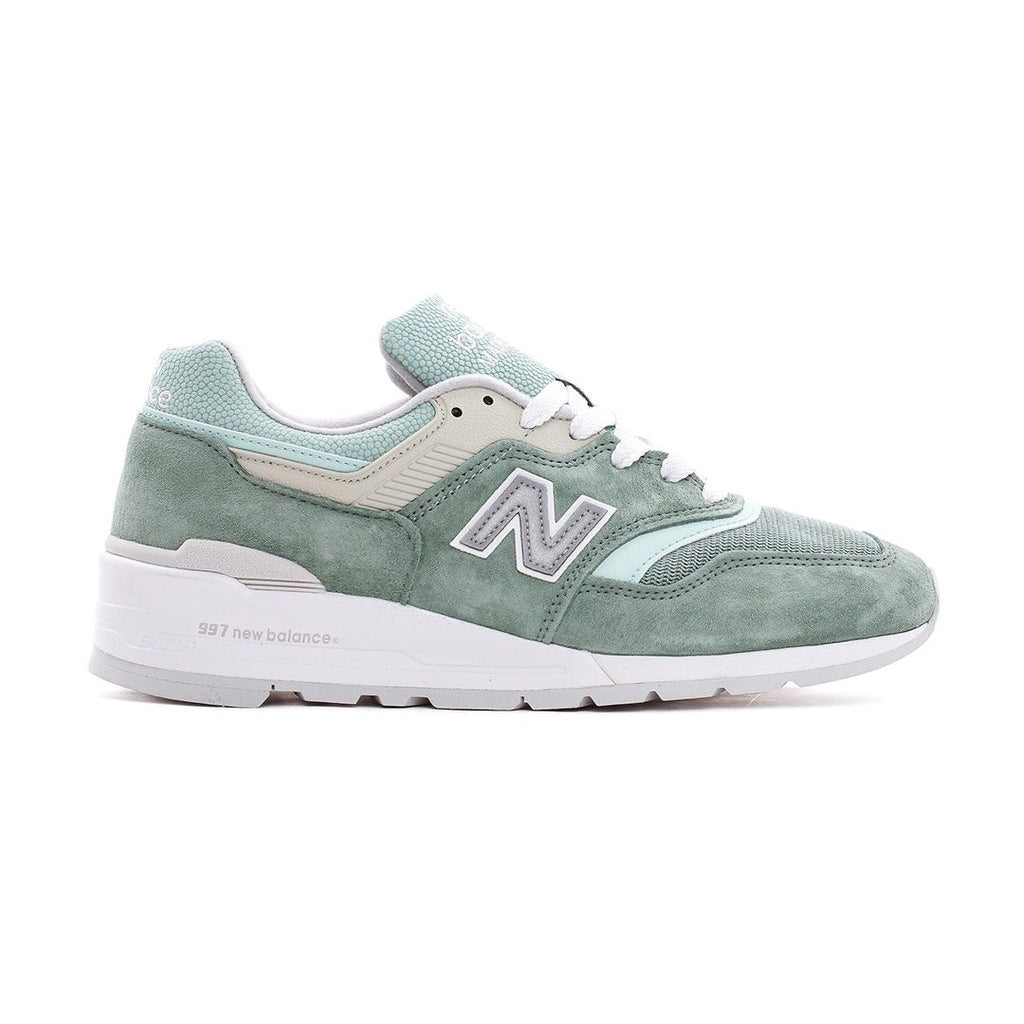 NEW BALANCE M997SOB MINT WHITE MEN MADE IN USA