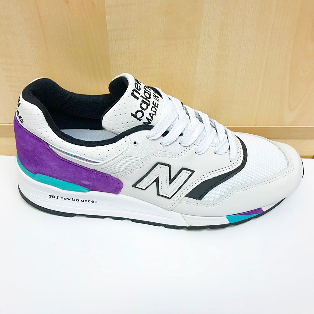 NEW BALANCE M997WEA WHITE PURPLE MADE IN USA