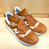NEW BALANCE M998TCC TAN WHITE MADE IN USA