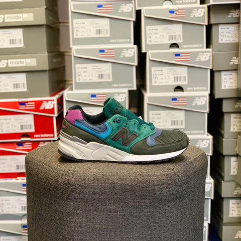 sports shoes e7027 96e6f NEW BALANCE M999JTB BLACK TEAL MADE IN USA