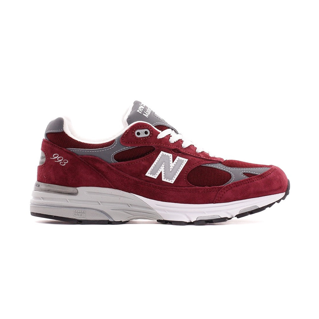 NEW BALANCE MR993BU BURGUNDY MADE IN USA