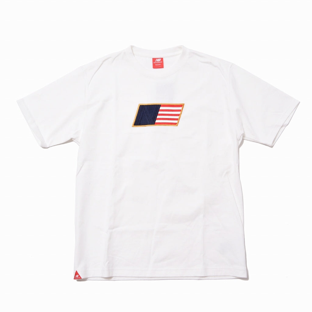 NEW BALANCE ATHLETICS SELECT TEE WHITE MEN MT01502-WT