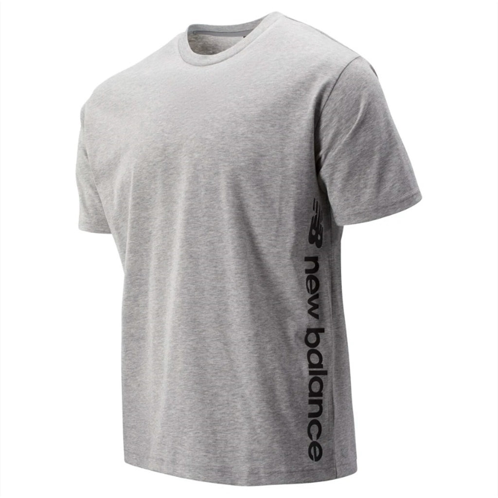 NEW BALANCE SPORT STYLE GRAPHIC TEE GREY MEN MT93534-AG