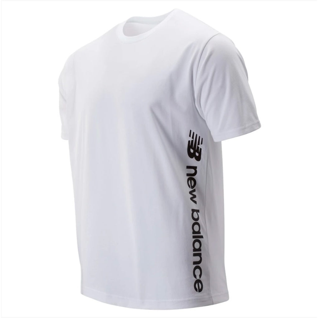 NEW BALANCE SPORT STYLE GRAPHIC TEE WHITE MEN MT93534-WT