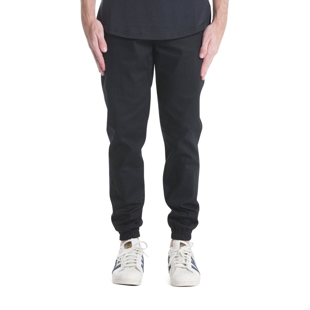 PUBLISH JOGGER BUTTOM BLACK PANTS P1601104
