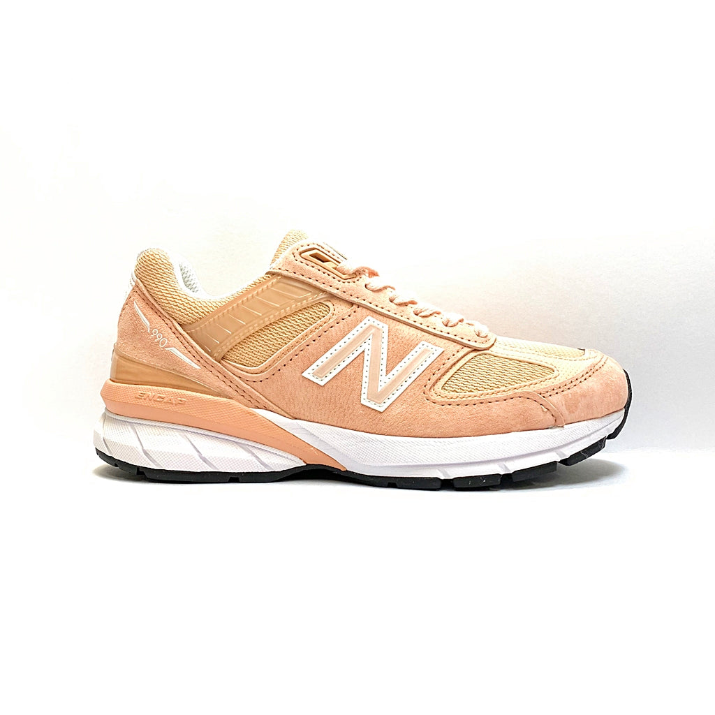 NEW BALANCE W990PK5 WOMEN PINK WHITE MADE IN USA