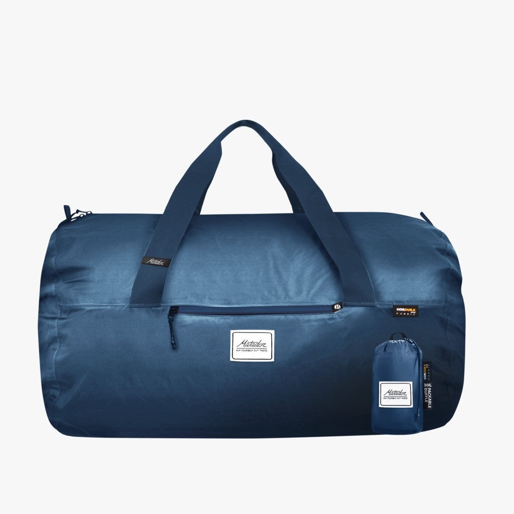 MATADOR TRANSIT30 PACKABLE DUFFLE BAG - BLUE