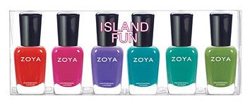 Zoya Nail Polish - Island Fun Collection Sampler