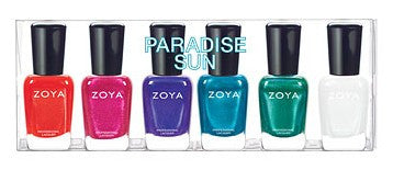 Zoya Nail Polish - Paradise Sun Collection Sampler