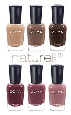 Zoya Nail Polish - Zoya Naturel Deux (2) Collection Sampler