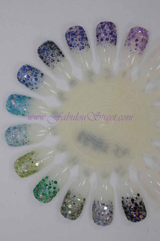 Nfu Oh Bling Bling Series Kit 4 - Fresh Illusion (Glitter only)