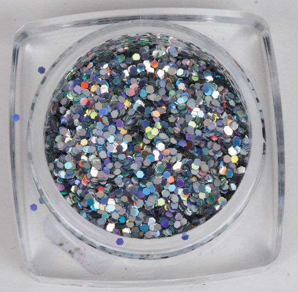 Diamond Glitter Rainbow Series 02 - Hologram Silver