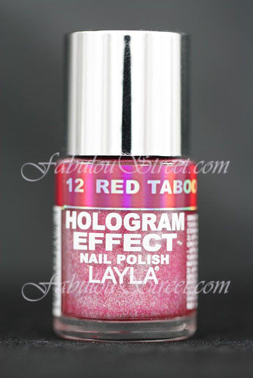 Layla Hologram Effect - #12 Red Taboo