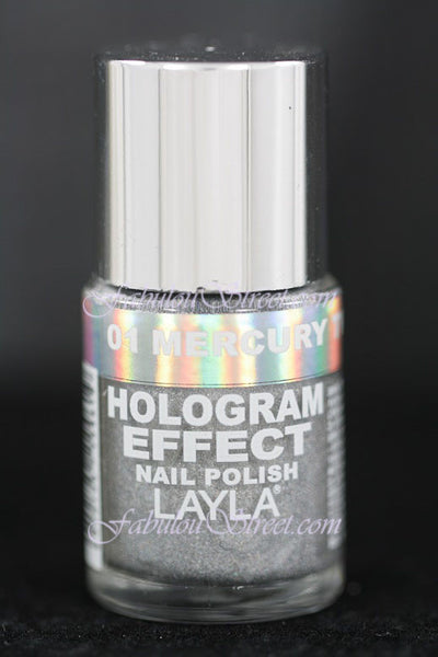 Layla Hologram Effect - #01 Mercury Twilight