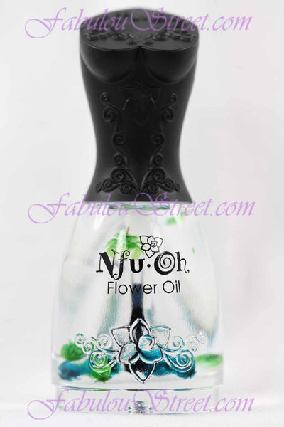 Nfu Oh Cuticle Flower Oil - #11 Peppermint
