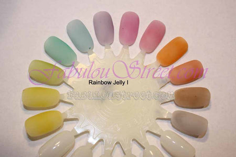 Nfu Oh Rainbow Jelly Series Kit 1