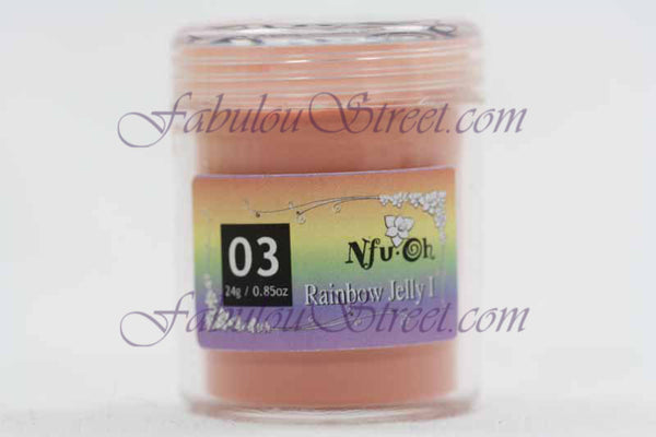 Nfu Oh Rainbow Jelly I #03 - 24g