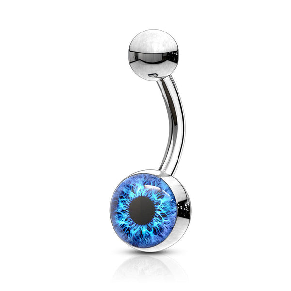 Eyeball Logo Belly Ring